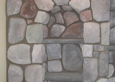 Stone Bookshelf