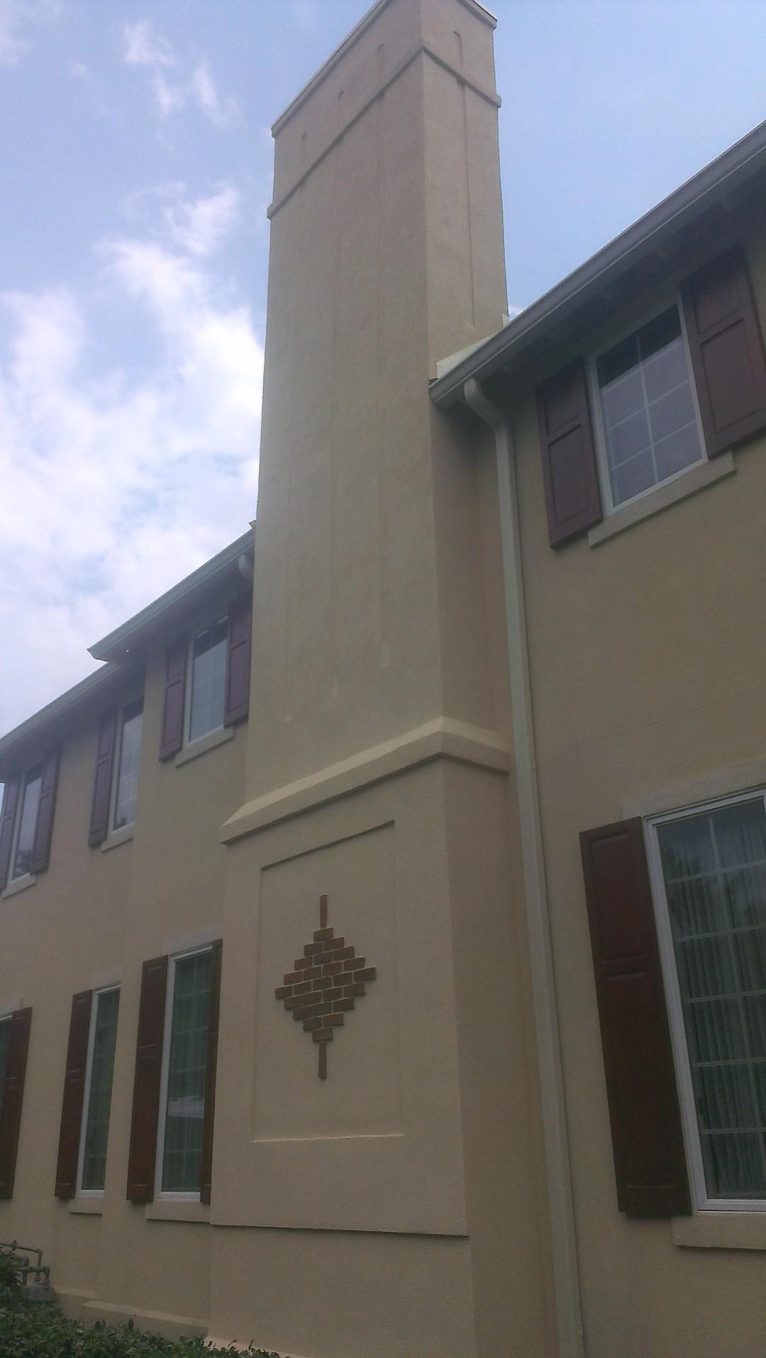 Stucco Chimney