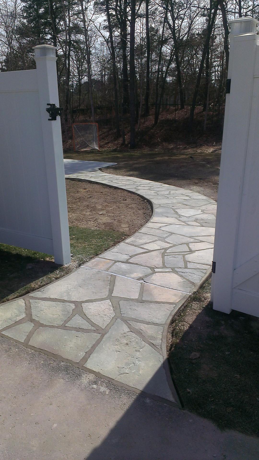 Bluestone Sidewalk
