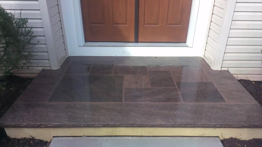 Brownstone Porch
